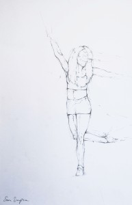 Dance Studies by Sam Jayne Simpson.