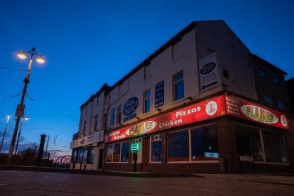 Flames Burger Bar Queen Street